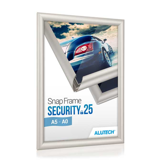 Klapprahmen Security 25